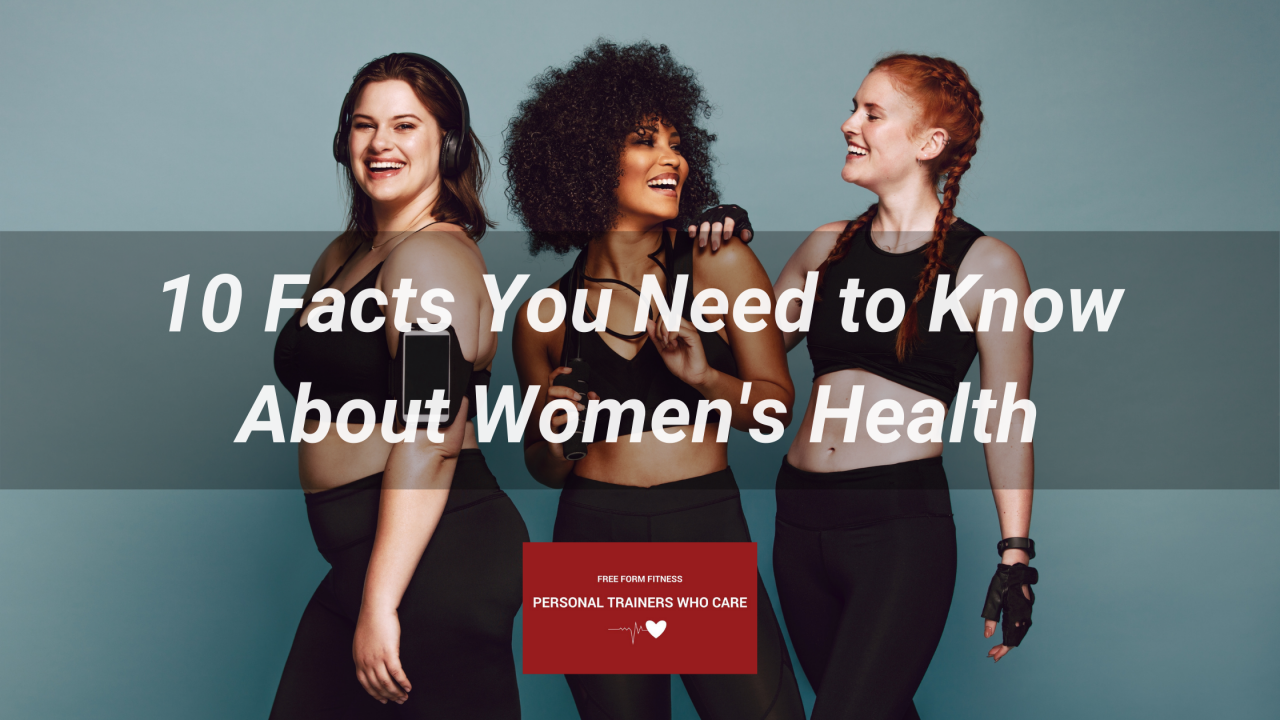 blog banner - women's health